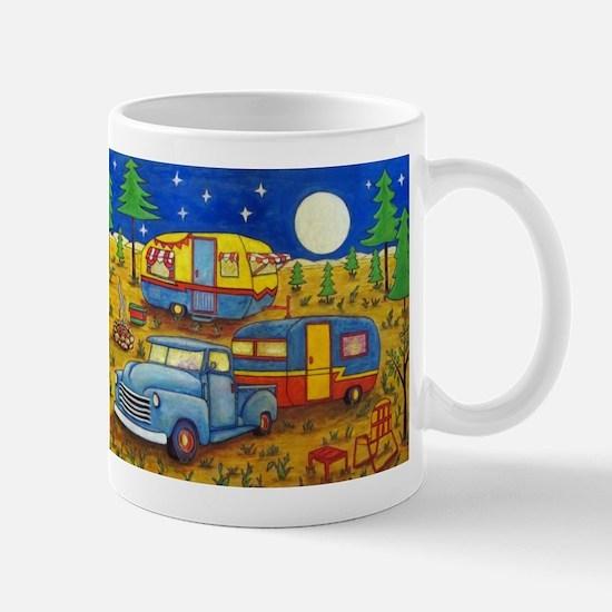 Glamper Camper Vintage Truck Mugs