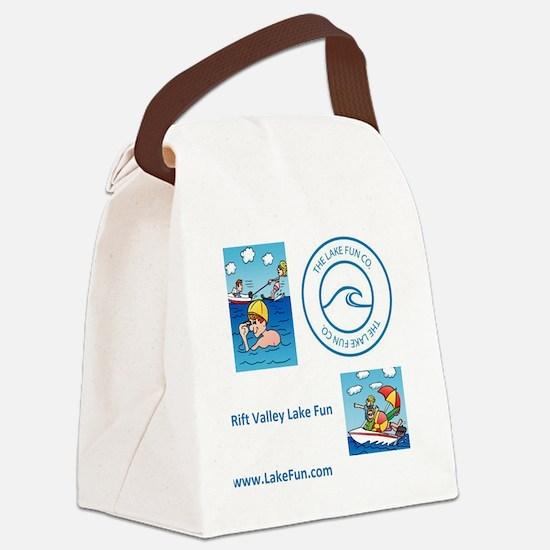 Cute Rift Canvas Lunch Bag