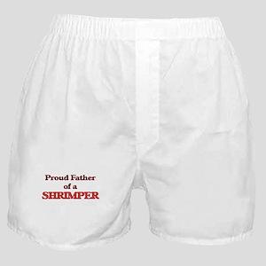 Proud Father of a Shrimper Boxer Shorts