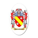 Petrushkevich 20x12 Oval Wall Decal