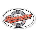 Rimington Football Camp Oval Sticker
