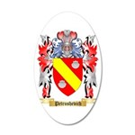 Petrushevich 20x12 Oval Wall Decal