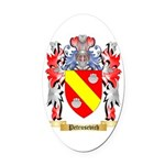 Petrusevich Oval Car Magnet