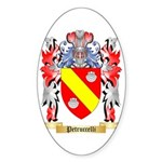Petruccelli Sticker (Oval 50 pk)