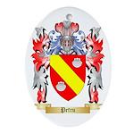Petru Oval Ornament