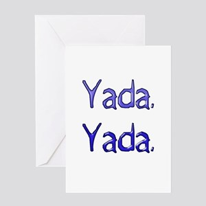 Yada. Yada. Greeting Cards