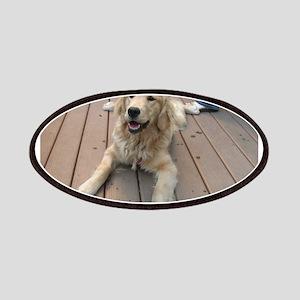 golden retriever puppy Patch