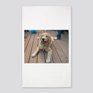 golden retriever puppy Area Rug