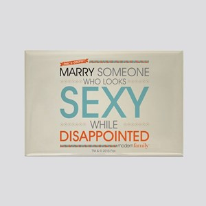 Modern Family Sexy Disappointed Rectangle Magnet