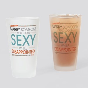 Modern Family Sexy Disappointed Drinking Glass