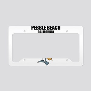 Pebble Beach, California License Plate Holder