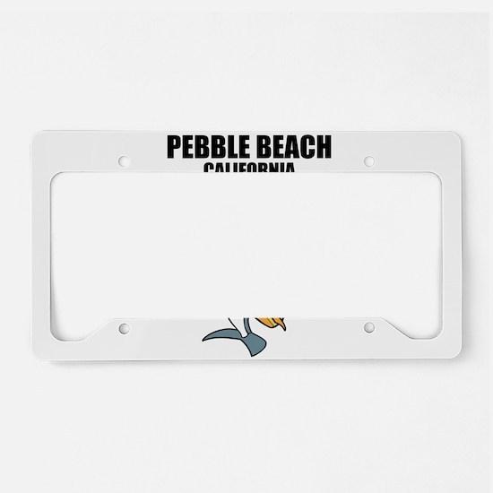 Pebble Beach, California License Plate Holder