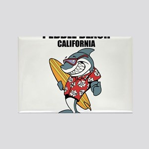 Pebble Beach, California Magnets
