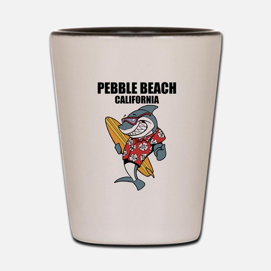 Pebble Beach, California Shot Glass