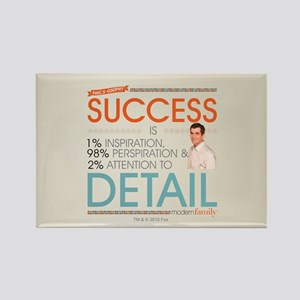 Modern Family Philsosophy Success Rectangle Magnet
