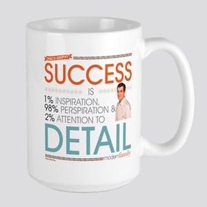 Modern Family Philsosophy Success Large Mug
