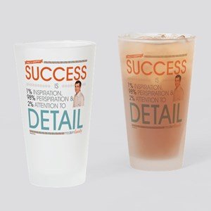 Modern Family Philsosophy Success Drinking Glass