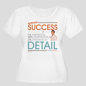 Modern Family Women's Plus Size Scoop Neck T-Shirt
