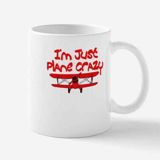 Red Airplane Mugs