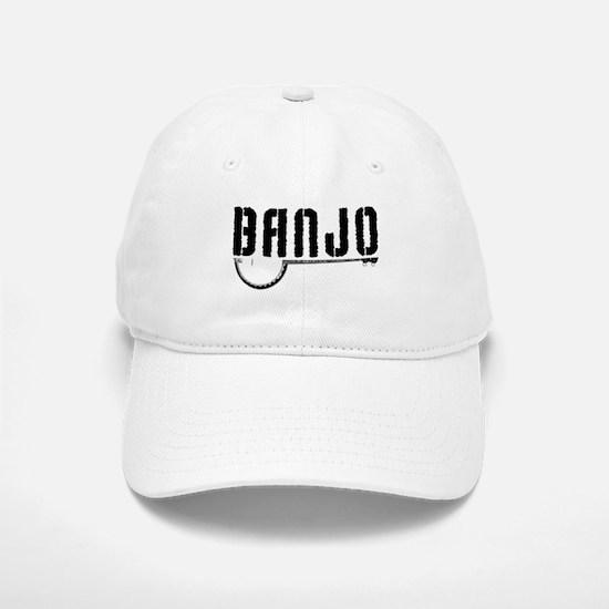 Retro Banjo Baseball Baseball Baseball Cap