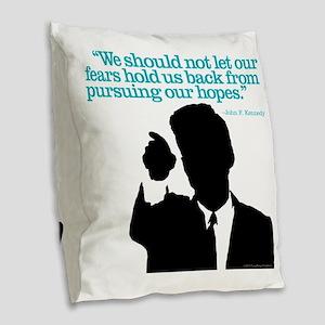 Hopes Burlap Throw Pillow