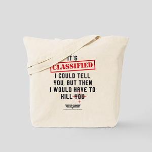 Top Gun - Classified Tote Bag