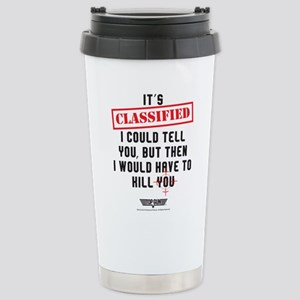Top Gun - Classified Stainless Steel Travel Mug