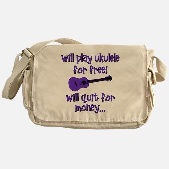 Funny Ukulele Messenger Bag