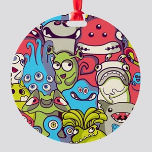 Monsters and Aliens Ornament