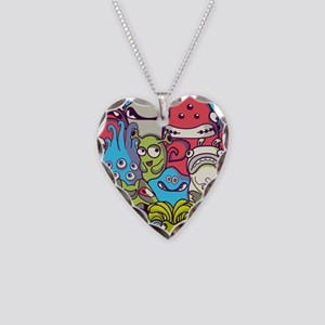 Monsters and Aliens Necklace