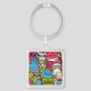 Monsters and Aliens Keychains