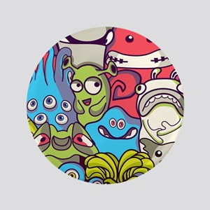 Monsters and Aliens Button