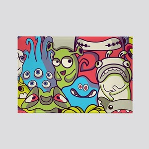 Monsters and Aliens Magnets