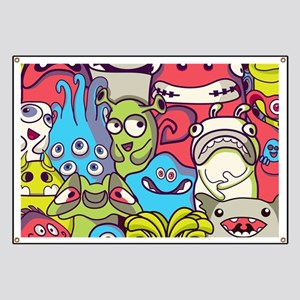Monsters and Aliens Banner