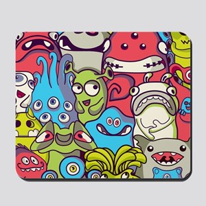 Monsters and Aliens Mousepad