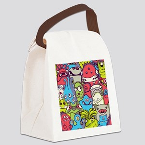 Monsters and Aliens Canvas Lunch Bag