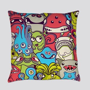 Monsters and Aliens Everyday Pillow