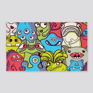 Monsters and Aliens Area Rug