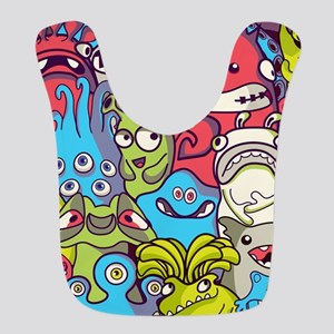 Monsters and Aliens Bib