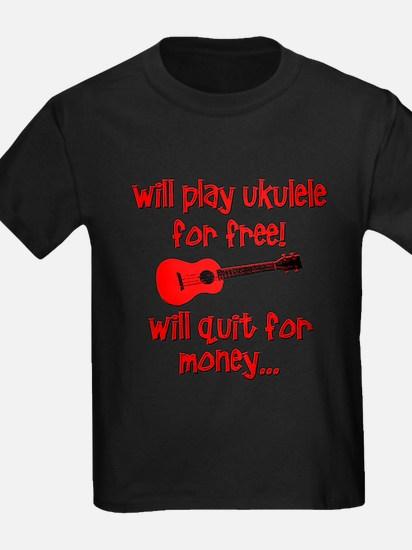 funny red ukulele T-Shirt