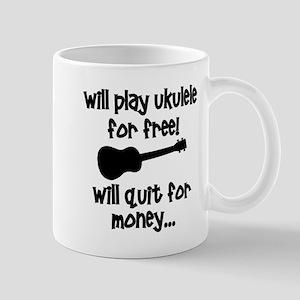 funny ukulele uke Mugs