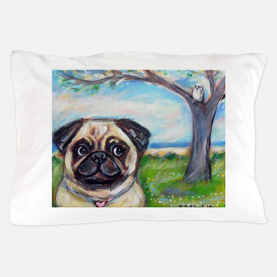Cute Hearts paintings Pillow Case
