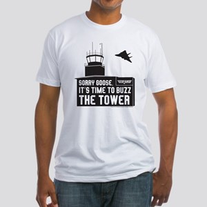 Top Gun - Buzz The Tower Fitted T-Shirt
