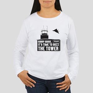 Top Gun - Buzz The Tow Women's Long Sleeve T-Shirt