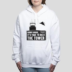 Top Gun - Buzz The Tower Women's Hooded Sweatshirt