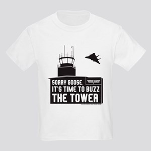 Top Gun - Buzz The Tower Kids Light T-Shirt
