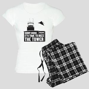 Top Gun - Buzz The Tower Women's Light Pajamas