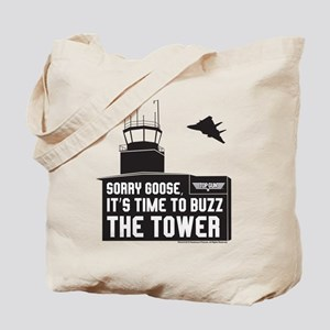 Top Gun - Buzz The Tower Tote Bag