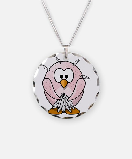 Funny Naked Penguin Necklace