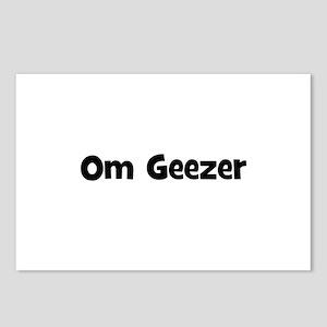Om Geezer Postcards (Package of 8)